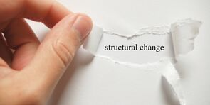 Speeding up the structural change? – An interjection!